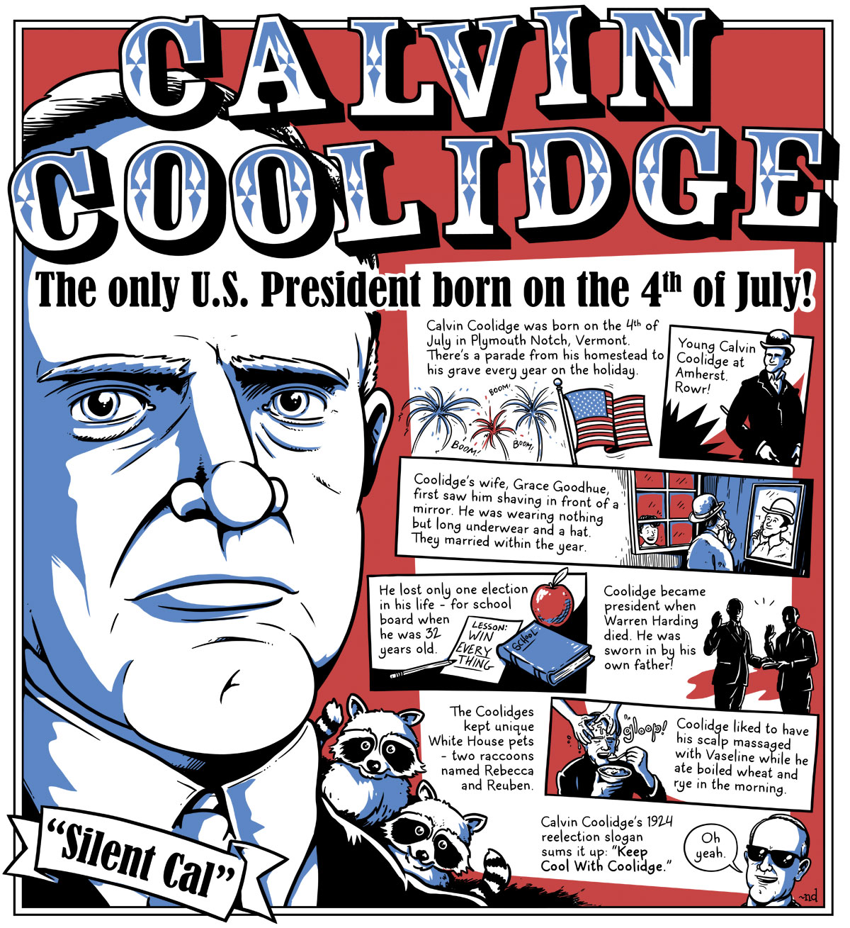 political work of calvin coolidge Information about calvin coolidge, the 30th president of the united states   portrait, calvin coolidge  political party: republican  (1923-24): curtis d  wilbur (1924-29) secretary of the interior: hubert work (1923-28): roy o west ( 1929).