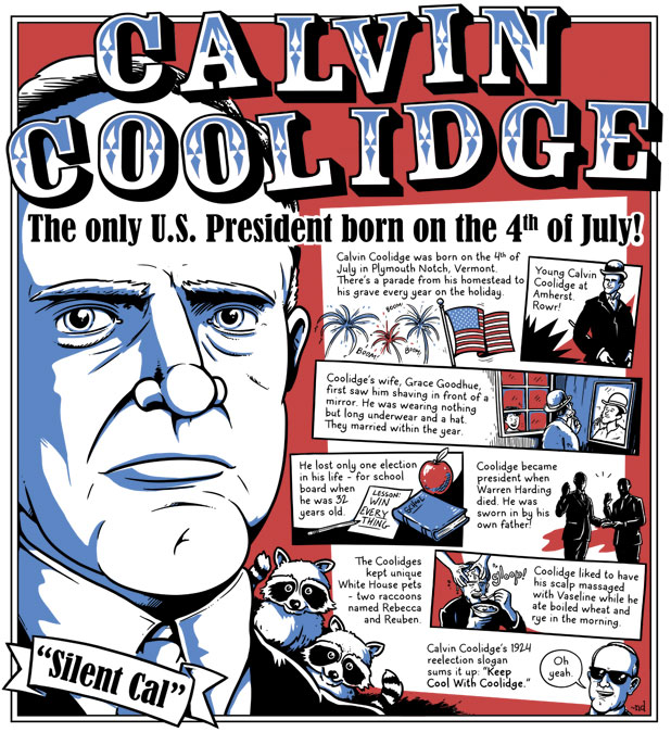 Calvin Coolidge: The Only U.S. President Born on the Fourth of July