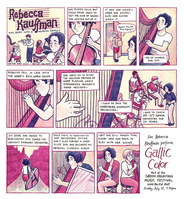 Harpist Rebecca Kauffman's Musical Journey