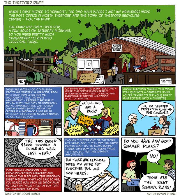 The Thetford Dump Social Scene