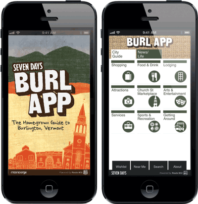 BurlApp: The Homegrown Guide to Burlington, Vermont