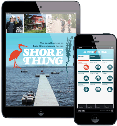 Shore Thing: The Local Look-up On Lake Champlain & Islands